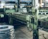 Linia Wilhelmsburger Maschinenfabrik do cięcia poprzecznego blac