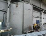 Piec kołpakowy DEGUSSA do obróbki cieplnej taśm stalowych