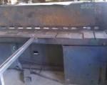 Gilotyna do cięcia blach 2000 x 3mm