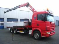 Scania R124-400 6x2 EURO 2, HMF 2820 #2