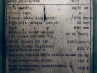 Prasa hydrauliczna Bramowa KRUPP 260 TON Wielostopniowa #4