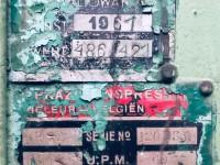 Prasa mimośrodowa RASKIN 7D 120 T #5