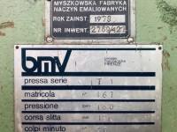 Prasa mechaniczna 160 t BMV T1  + szafa sterownicza #5