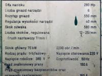 Prasa hydrauliczna Bramowa KRUPP 280 TON Wielostopniowa #5