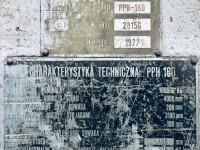 Prasa krawędziowa hydrauliczna PPH 160/4000 #5