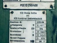 Prasa mimośrodowa  - ERFURT 250 ton #5