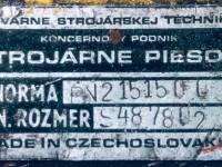 Nożyce gilotynowe do cięcia blach 2000 x 2,5 mm  Strojarne Pieso #3