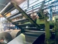 Linia Wilhelmsburger Maschinenfabrik do cięcia poprzecznego blac #4