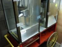 Wózek z dwoma maszynami do produkcji popcornu #3