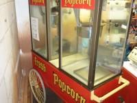 Wózek z dwoma maszynami do produkcji popcornu #1