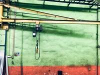 Żuraw przyścienny + wciągnik 1 t #4