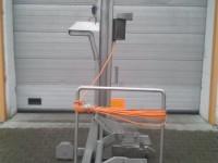 Słup załadunkowy mobilny do cymbrów 200 l #3