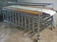 Stół piekarniczy z drewnianym blatem #2