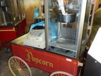 Wózek z maszyną do produkcji popcornu #2