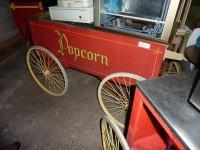 Wózek z maszyną do produkcji popcornu #3