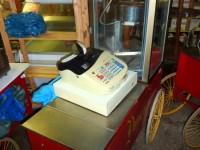 Wózek z maszyną do produkcji popcornu #1