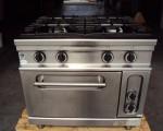 Kuchnia gazowa z piekarnikiem elektrycznym Bartsher 6.6kW (122-9)