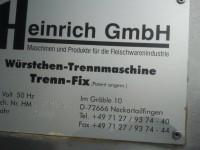 Maszyna do rozcinania kiełbasek Henrich GMBH (112-4) #6