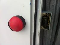 Drzwi do chłodni lub mroźni Isocab 202x87 (123-4) #5