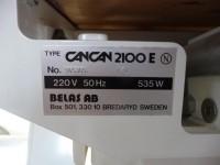 Używany fotel stomatologiczno-kosmetyczny Cancan 2100E (124-2) #6
