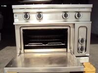 Kuchnia gazowa z piekarnikiem elektrycznym Bartsher 6.6kW (122-9) #2