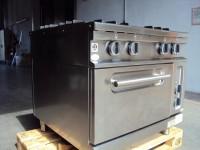 Kuchnia gazowa z piekarnikiem elektrycznym Bartsher 6.6kW (122-9) #3