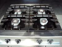 Kuchnia gazowa z piekarnikiem elektrycznym Bartsher 6.6kW (122-9) #4