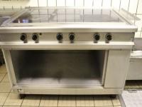 Używana kuchnia gastronomiczna elektryczna 5 stref grzewczych (125-2) #1