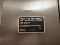 Okap gastronomiczny Halton z systemem przeciwpożarowym ANSUL (121-15) #7