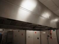 Okap gastronomiczny Halton z systemem przeciwpożarowym ANSUL (121-15) #5